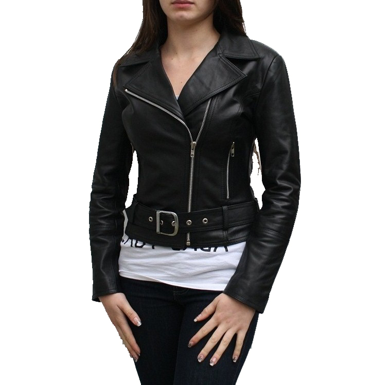 Women Leather Jacket- Ladies Classic Leather Jacket Uk