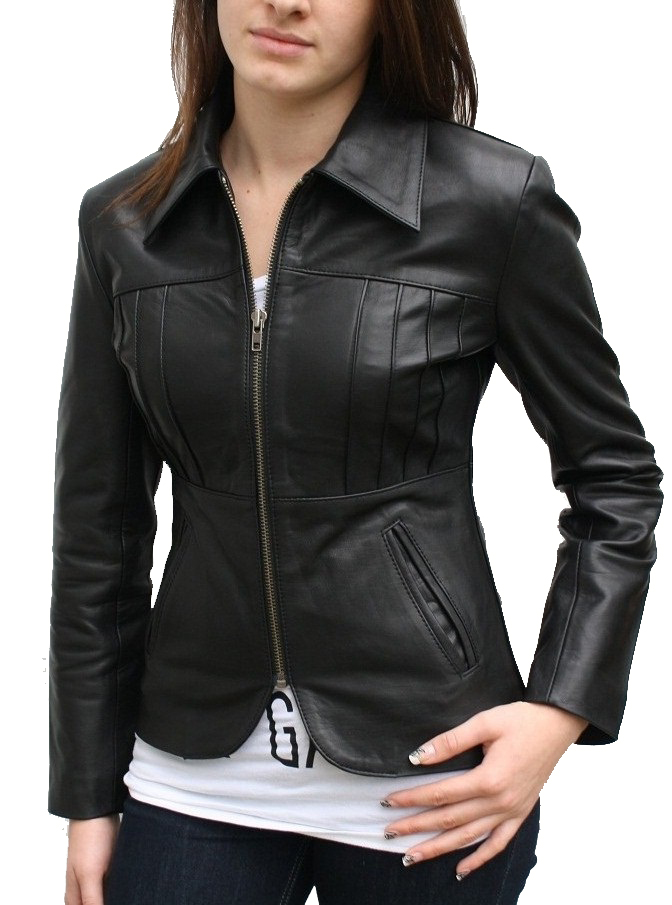 Women Leather Jacket- Ladies Leather Jacket