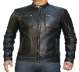 Weybridge Leather Jacket-Large