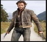X-Men Origins Distressed Leather Jacket M