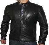 Classic style Leather Jacket LN-133