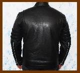 Logan Black Leather Jacket
