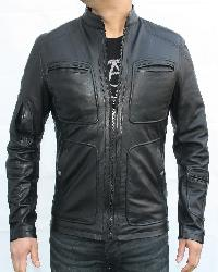 kirk-star trek Leather Jacket
