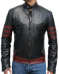 X-Men Origins Biker Jacket