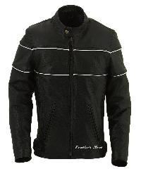 Mens Motorcycle Jacket Biker-012